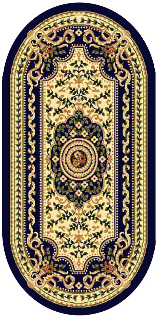 Ковер Kamalak tekstil, овальный, 60 x 110 см. УК-0405УК-0405Ковер Kamalak Tekstil изготовлен из прочного синтетического материала heat-set, улучшенного варианта полипропилена (эта нить получается в результате его дополнительной обработки). Полипропилен износостоек, нетоксичен, не впитывает влагу, не провоцирует аллергию. Структура волокна в полипропиленовых коврах гладкая, поэтому грязь не будет въедаться и скапливаться на ворсе. Практичный и износоустойчивый ворс не истирается и не накапливает статическое электричество. Ковер обладает хорошими показателями теплостойкости и шумоизоляции. Оригинальный рисунок позволит гармонично оформить интерьер комнаты, гостиной или прихожей. За счет невысокого ворса ковер легко чистить. При надлежащем уходе синтетический ковер прослужит долго, не утратив ни яркости узора, ни блеска ворса, ни упругости. Самый простой способ избавить изделие от грязи - пропылесосить его с обеих сторон (лицевой и изнаночной). Влажная уборка с применением шампуней и моющих средств не противопоказана. Хранить рекомендуется в свернутом рулоном виде.