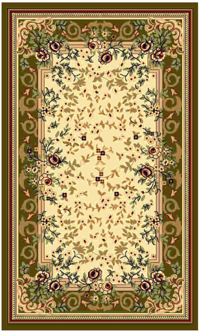 Ковер Kamalak tekstil, прямоугольный, цвет: кремовый, 50 x 100 см. УК-0463УК-0463Ковры-паласы выполнены из полипропилена. Ковры обладают хорошими показателями теплостойкости и шумоизоляции. Являются гиппоалергенными. За счет невысокого ворса ковры легко чистить. Вам придется по душе широкая гамма цветов и возможность гармонично оформить интерьер. Практичный и устойчивый к износу ворс - от постоянного хождения не истирается, не накапливает статическое электричество. Структура волокна в полипропиленовых моделях гладкая, поэтому грязь не может выесться, на ворсе она скапливается с трудом. Полипропилен не впитывает влагу, отталкивает водянистые пятна. Уход: Самый простой способ избавить изделие от грязи – пропылесосить его с обеих сторон (лицевой и изнаночной). Влажная уборка с применением шампуней и моющих средств не противопоказана. Если шерсти и шёлку универсальные чистящие составы не подходят, то для синтетики они придутся в самый раз. Хранить их нужно рулоном, не складывая «салфеткой». При надлежащем уходе синтетический ковёр прослужит долго, не утратив ни яркости узора, ни блеска ворса, ни его упругости.