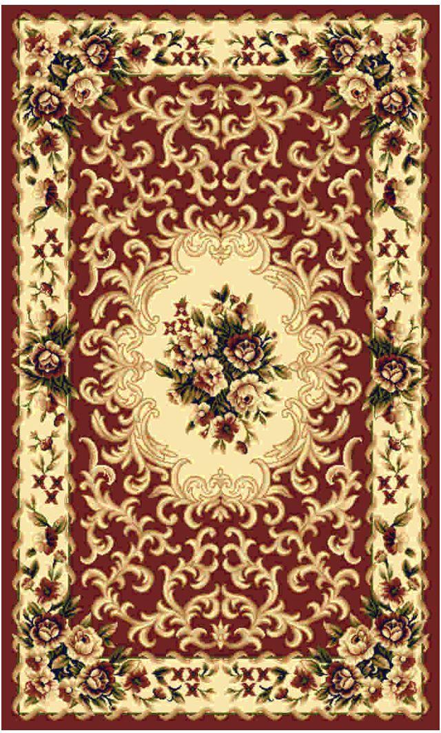 Ковер Kamalak tekstil, прямоугольный, цвет: кремовый, 80 x 150 см. УК-0005УК-0005Ковры-паласы выполнены из полипропилена. Ковры обладают хорошими показателями теплостойкости и шумоизоляции. Являются гиппоалергенными. За счет невысокого ворса ковры легко чистить. Вам придется по душе широкая гамма цветов и возможность гармонично оформить интерьер. Практичный и устойчивый к износу ворс - от постоянного хождения не истирается, не накапливает статическое электричество. Структура волокна в полипропиленовых моделях гладкая, поэтому грязь не может выесться, на ворсе она скапливается с трудом. Полипропилен не впитывает влагу, отталкивает водянистые пятна. Уход: Самый простой способ избавить изделие от грязи – пропылесосить его с обеих сторон (лицевой и изнаночной).Влажная уборка с применением шампуней и моющих средств не противопоказана. Если шерсти и шёлку универсальные чистящие составы не подходят, то для синтетики они придутся в самый раз.Хранить их нужно рулоном, не складывая «салфеткой».При надлежащем уходе синтетический ковёр прослужит долго, не утратив ни яркости узора, ни блеска ворса, ни его упругости.