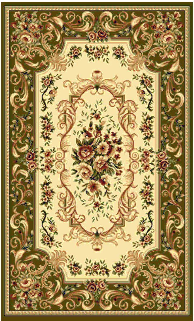 Ковер Kamalak tekstil, овальный, цвет: кремовый, 60 x 110 см. УК-0360УК-0360Ковры-паласы выполнены из полипропилена. Ковры обладают хорошими показателями теплостойкости и шумоизоляции. Являются гиппоалергенными. За счет невысокого ворса ковры легко чистить. Вам придется по душе широкая гамма цветов и возможность гармонично оформить интерьер. Практичный и устойчивый к износу ворс - от постоянного хождения не истирается, не накапливает статическое электричество. Структура волокна в полипропиленовых моделях гладкая, поэтому грязь не может выесться, на ворсе она скапливается с трудом. Полипропилен не впитывает влагу, отталкивает водянистые пятна. Уход: Самый простой способ избавить изделие от грязи – пропылесосить его с обеих сторон (лицевой и изнаночной).Влажная уборка с применением шампуней и моющих средств не противопоказана. Если шерсти и шёлку универсальные чистящие составы не подходят, то для синтетики они придутся в самый раз.Хранить их нужно рулоном, не складывая «салфеткой».При надлежащем уходе синтетический ковёр прослужит долго, не утратив ни яркости узора, ни блеска ворса, ни его упругости.