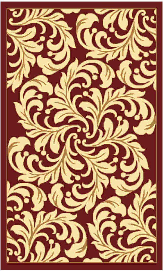 Ковер Kamalak tekstil, прямоугольный, цвет: бордовый , 50 x 100 см. УК-0501УК-0501Ковры-паласы выполнены из полипропилена. Ковры обладают хорошими показателями теплостойкости и шумоизоляции. Являются гиппоалергенными. За счет невысокого ворса ковры легко чистить. Вам придется по душе широкая гамма цветов и возможность гармонично оформить интерьер. Практичный и устойчивый к износу ворс - от постоянного хождения не истирается, не накапливает статическое электричество. Структура волокна в полипропиленовых моделях гладкая, поэтому грязь не может выесться, на ворсе она скапливается с трудом. Полипропилен не впитывает влагу, отталкивает водянистые пятна. Уход: Самый простой способ избавить изделие от грязи – пропылесосить его с обеих сторон (лицевой и изнаночной).Влажная уборка с применением шампуней и моющих средств не противопоказана. Если шерсти и шёлку универсальные чистящие составы не подходят, то для синтетики они придутся в самый раз.Хранить их нужно рулоном, не складывая «салфеткой».При надлежащем уходе синтетический ковёр прослужит долго, не утратив ни яркости узора, ни блеска ворса, ни его упругости.