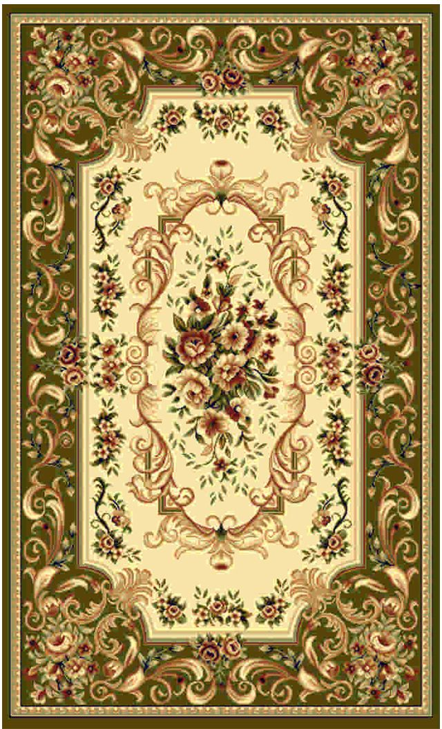 Ковер Kamalak tekstil, прямоугольный, цвет: кремовый, 100 x 150 см. УК-0356УК-0356Ковры-паласы выполнены из полипропилена. Ковры обладают хорошими показателями теплостойкости и шумоизоляции. Являются гиппоалергенными. За счет невысокого ворса ковры легко чистить. Вам придется по душе широкая гамма цветов и возможность гармонично оформить интерьер. Практичный и устойчивый к износу ворс - от постоянного хождения не истирается, не накапливает статическое электричество. Структура волокна в полипропиленовых моделях гладкая, поэтому грязь не может выесться, на ворсе она скапливается с трудом. Полипропилен не впитывает влагу, отталкивает водянистые пятна. Уход: Самый простой способ избавить изделие от грязи – пропылесосить его с обеих сторон (лицевой и изнаночной).Влажная уборка с применением шампуней и моющих средств не противопоказана. Если шерсти и шёлку универсальные чистящие составы не подходят, то для синтетики они придутся в самый раз.Хранить их нужно рулоном, не складывая «салфеткой».При надлежащем уходе синтетический ковёр прослужит долго, не утратив ни яркости узора, ни блеска ворса, ни его упругости.