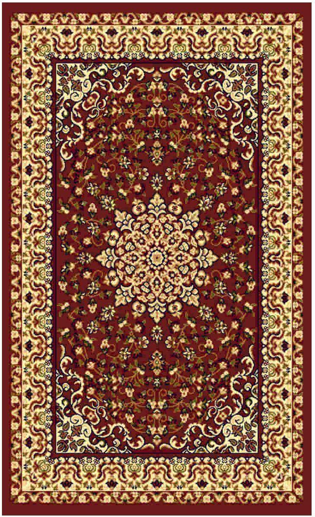 Ковер Kamalak tekstil, прямоугольный, цвет: кремовый, 50 x 100 см. УК-0477УК-0477Ковры-паласы выполнены из полипропилена. Ковры обладают хорошими показателями теплостойкости и шумоизоляции. Являются гиппоалергенными. За счет невысокого ворса ковры легко чистить. Вам придется по душе широкая гамма цветов и возможность гармонично оформить интерьер. Практичный и устойчивый к износу ворс - от постоянного хождения не истирается, не накапливает статическое электричество. Структура волокна в полипропиленовых моделях гладкая, поэтому грязь не может выесться, на ворсе она скапливается с трудом. Полипропилен не впитывает влагу, отталкивает водянистые пятна. Уход: Самый простой способ избавить изделие от грязи – пропылесосить его с обеих сторон (лицевой и изнаночной).Влажная уборка с применением шампуней и моющих средств не противопоказана. Если шерсти и шёлку универсальные чистящие составы не подходят, то для синтетики они придутся в самый раз.Хранить их нужно рулоном, не складывая «салфеткой».При надлежащем уходе синтетический ковёр прослужит долго, не утратив ни яркости узора, ни блеска ворса, ни его упругости.