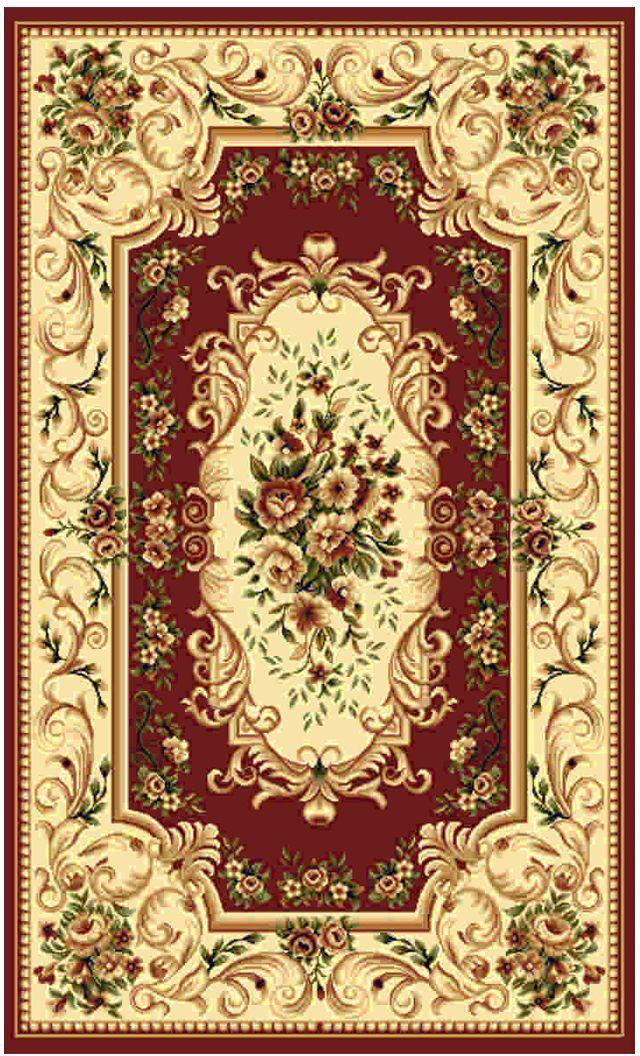 Ковер Kamalak tekstil, прямоугольный, цвет: бордовый , 80 x 150 см. УК-0369УК-0369Ковры-паласы выполнены из полипропилена. Ковры обладают хорошими показателями теплостойкости и шумоизоляции. Являются гиппоалергенными. За счет невысокого ворса ковры легко чистить. Вам придется по душе широкая гамма цветов и возможность гармонично оформить интерьер. Практичный и устойчивый к износу ворс - от постоянного хождения не истирается, не накапливает статическое электричество. Структура волокна в полипропиленовых моделях гладкая, поэтому грязь не может выесться, на ворсе она скапливается с трудом. Полипропилен не впитывает влагу, отталкивает водянистые пятна. Уход: Самый простой способ избавить изделие от грязи – пропылесосить его с обеих сторон (лицевой и изнаночной).Влажная уборка с применением шампуней и моющих средств не противопоказана. Если шерсти и шёлку универсальные чистящие составы не подходят, то для синтетики они придутся в самый раз.Хранить их нужно рулоном, не складывая «салфеткой».При надлежащем уходе синтетический ковёр прослужит долго, не утратив ни яркости узора, ни блеска ворса, ни его упругости.