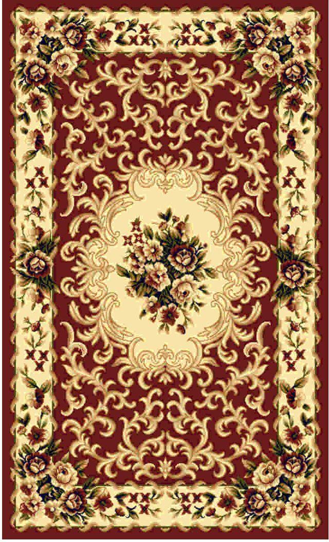 Ковер Kamalak tekstil, прямоугольный, цвет: кремовый, 60 x 110 см. УК-0006УК-0006Ковры-паласы выполнены из полипропилена. Ковры обладают хорошими показателями теплостойкости и шумоизоляции. Являются гиппоалергенными. За счет невысокого ворса ковры легко чистить. Вам придется по душе широкая гамма цветов и возможность гармонично оформить интерьер. Практичный и устойчивый к износу ворс - от постоянного хождения не истирается, не накапливает статическое электричество. Структура волокна в полипропиленовых моделях гладкая, поэтому грязь не может выесться, на ворсе она скапливается с трудом. Полипропилен не впитывает влагу, отталкивает водянистые пятна. Уход: Самый простой способ избавить изделие от грязи – пропылесосить его с обеих сторон (лицевой и изнаночной). Влажная уборка с применением шампуней и моющих средств не противопоказана. Если шерсти и шёлку универсальные чистящие составы не подходят, то для синтетики они придутся в самый раз. Хранить их нужно рулоном, не складывая «салфеткой». При надлежащем уходе синтетический ковёр прослужит долго, не утратив ни яркости узора, ни блеска ворса, ни его упругости.