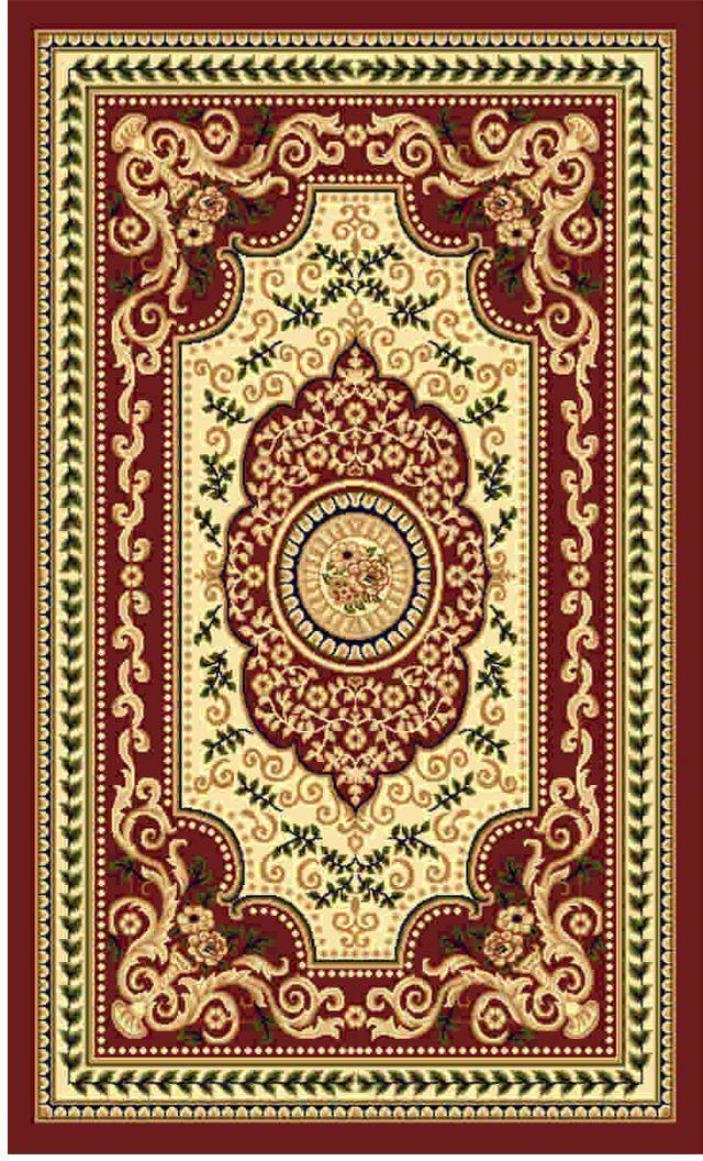 Ковер Kamalak tekstil, прямоугольный, цвет: кремовый, 50 x 100 см. УК-0517УК-0517Ковры-паласы выполнены из полипропилена. Ковры обладают хорошими показателями теплостойкости и шумоизоляции. Являются гиппоалергенными. За счет невысокого ворса ковры легко чистить. Вам придется по душе широкая гамма цветов и возможность гармонично оформить интерьер. Практичный и устойчивый к износу ворс - от постоянного хождения не истирается, не накапливает статическое электричество. Структура волокна в полипропиленовых моделях гладкая, поэтому грязь не может выесться, на ворсе она скапливается с трудом. Полипропилен не впитывает влагу, отталкивает водянистые пятна. Уход: Самый простой способ избавить изделие от грязи – пропылесосить его с обеих сторон (лицевой и изнаночной).Влажная уборка с применением шампуней и моющих средств не противопоказана. Если шерсти и шёлку универсальные чистящие составы не подходят, то для синтетики они придутся в самый раз.Хранить их нужно рулоном, не складывая «салфеткой».При надлежащем уходе синтетический ковёр прослужит долго, не утратив ни яркости узора, ни блеска ворса, ни его упругости.