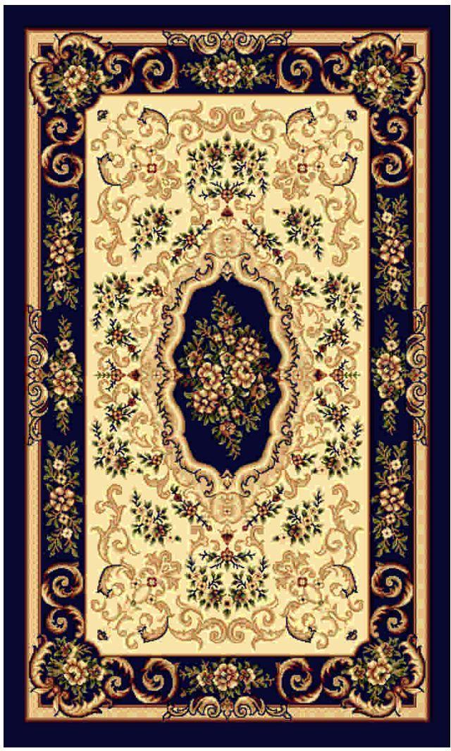 Ковер Kamalak tekstil, прямоугольный, цвет: кремовый, 100 x 150 см. УК-0095УК-0095Ковры-паласы выполнены из полипропилена. Ковры обладают хорошими показателями теплостойкости и шумоизоляции. Являются гиппоалергенными. За счет невысокого ворса ковры легко чистить. Вам придется по душе широкая гамма цветов и возможность гармонично оформить интерьер. Практичный и устойчивый к износу ворс - от постоянного хождения не истирается, не накапливает статическое электричество. Структура волокна в полипропиленовых моделях гладкая, поэтому грязь не может выесться, на ворсе она скапливается с трудом. Полипропилен не впитывает влагу, отталкивает водянистые пятна. Уход: Самый простой способ избавить изделие от грязи – пропылесосить его с обеих сторон (лицевой и изнаночной).Влажная уборка с применением шампуней и моющих средств не противопоказана. Если шерсти и шёлку универсальные чистящие составы не подходят, то для синтетики они придутся в самый раз.Хранить их нужно рулоном, не складывая «салфеткой».При надлежащем уходе синтетический ковёр прослужит долго, не утратив ни яркости узора, ни блеска ворса, ни его упругости.
