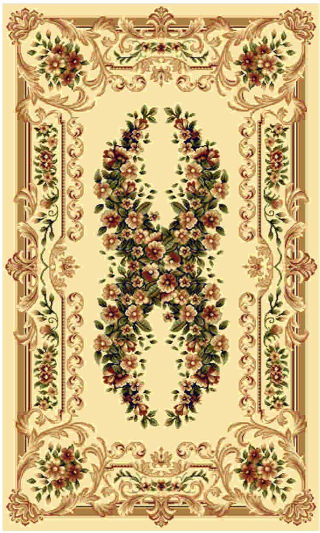 Ковер Kamalak tekstil, прямоугольный, цвет: кремовый, 60 x 110 см. УК-0017УК-0017Ковры-паласы выполнены из полипропилена. Ковры обладают хорошими показателями теплостойкости и шумоизоляции. Являются гиппоалергенными. За счет невысокого ворса ковры легко чистить. Вам придется по душе широкая гамма цветов и возможность гармонично оформить интерьер. Практичный и устойчивый к износу ворс - от постоянного хождения не истирается, не накапливает статическое электричество. Структура волокна в полипропиленовых моделях гладкая, поэтому грязь не может выесться, на ворсе она скапливается с трудом. Полипропилен не впитывает влагу, отталкивает водянистые пятна. Уход: Самый простой способ избавить изделие от грязи – пропылесосить его с обеих сторон (лицевой и изнаночной). Влажная уборка с применением шампуней и моющих средств не противопоказана. Если шерсти и шёлку универсальные чистящие составы не подходят, то для синтетики они придутся в самый раз. Хранить их нужно рулоном, не складывая «салфеткой». При надлежащем уходе синтетический ковёр прослужит долго, не утратив ни яркости узора, ни блеска ворса, ни его упругости.