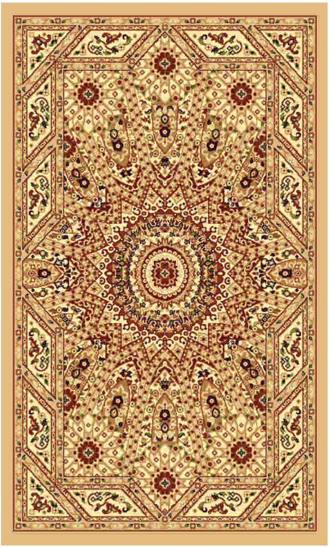 Ковер Kamalak tekstil, прямоугольный, 50 x 100 см. УК-0483 ковер kamalak tekstil ук 0494