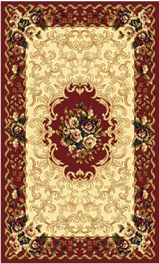 Ковер Kamalak tekstil, прямоугольный, цвет: кремовый, 50 x 100 см. УК-0429УК-0429Ковры-паласы выполнены из полипропилена. Ковры обладают хорошими показателями теплостойкости и шумоизоляции. Являются гиппоалергенными. За счет невысокого ворса ковры легко чистить. Вам придется по душе широкая гамма цветов и возможность гармонично оформить интерьер. Практичный и устойчивый к износу ворс - от постоянного хождения не истирается, не накапливает статическое электричество. Структура волокна в полипропиленовых моделях гладкая, поэтому грязь не может выесться, на ворсе она скапливается с трудом. Полипропилен не впитывает влагу, отталкивает водянистые пятна. Уход: Самый простой способ избавить изделие от грязи – пропылесосить его с обеих сторон (лицевой и изнаночной).Влажная уборка с применением шампуней и моющих средств не противопоказана. Если шерсти и шёлку универсальные чистящие составы не подходят, то для синтетики они придутся в самый раз.Хранить их нужно рулоном, не складывая «салфеткой».При надлежащем уходе синтетический ковёр прослужит долго, не утратив ни яркости узора, ни блеска ворса, ни его упругости.