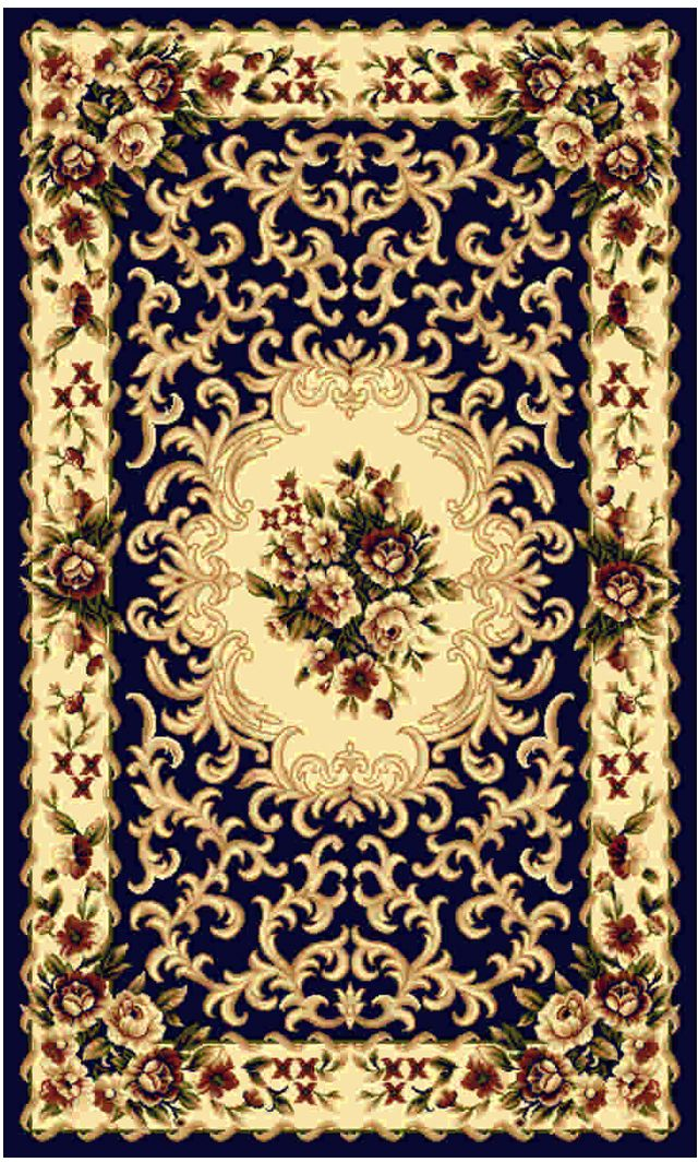 Ковер Kamalak tekstil, прямоугольный, цвет: синий, 50 x 100 см. УК-0431УК-0431Ковры-паласы выполнены из полипропилена. Ковры обладают хорошими показателями теплостойкости и шумоизоляции. Являются гиппоалергенными. За счет невысокого ворса ковры легко чистить. Вам придется по душе широкая гамма цветов и возможность гармонично оформить интерьер. Практичный и устойчивый к износу ворс - от постоянного хождения не истирается, не накапливает статическое электричество. Структура волокна в полипропиленовых моделях гладкая, поэтому грязь не может выесться, на ворсе она скапливается с трудом. Полипропилен не впитывает влагу, отталкивает водянистые пятна. Уход: Самый простой способ избавить изделие от грязи – пропылесосить его с обеих сторон (лицевой и изнаночной).Влажная уборка с применением шампуней и моющих средств не противопоказана. Если шерсти и шёлку универсальные чистящие составы не подходят, то для синтетики они придутся в самый раз.Хранить их нужно рулоном, не складывая «салфеткой».При надлежащем уходе синтетический ковёр прослужит долго, не утратив ни яркости узора, ни блеска ворса, ни его упругости.