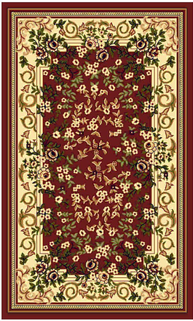 Ковер Kamalak tekstil, прямоугольный, 50 x 100 см. УК-0464 ковер kamalak tekstil прямоугольный цвет кремовый 50 x 100 см ук 0515