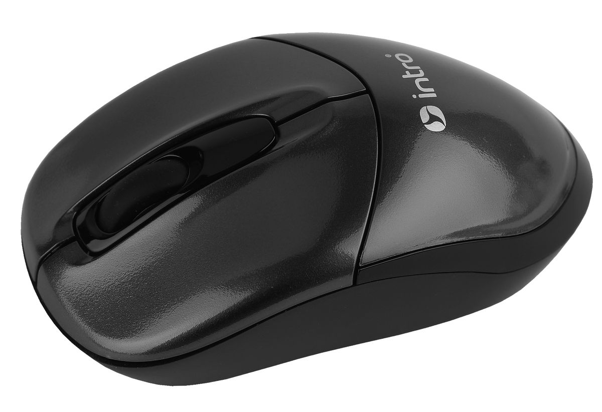 все цены на  Intro MW490 Wireless, Black беспроводная мышь  онлайн