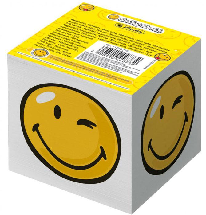 Herlitz Бумага для заметок Smiley World 700 листов11245297Бумага для заметок Herlitz Smiley World - это удобное и практическое решение для быстрой записи информации в домашних или офисных условиях.В блоке 700 листов белой бумаги. Он выполнен в виде куба с изображением подмигивающего смайла. Бумага для заметок Herlitz Smiley World займет свое место среди ваших канцелярских принадлежностей.