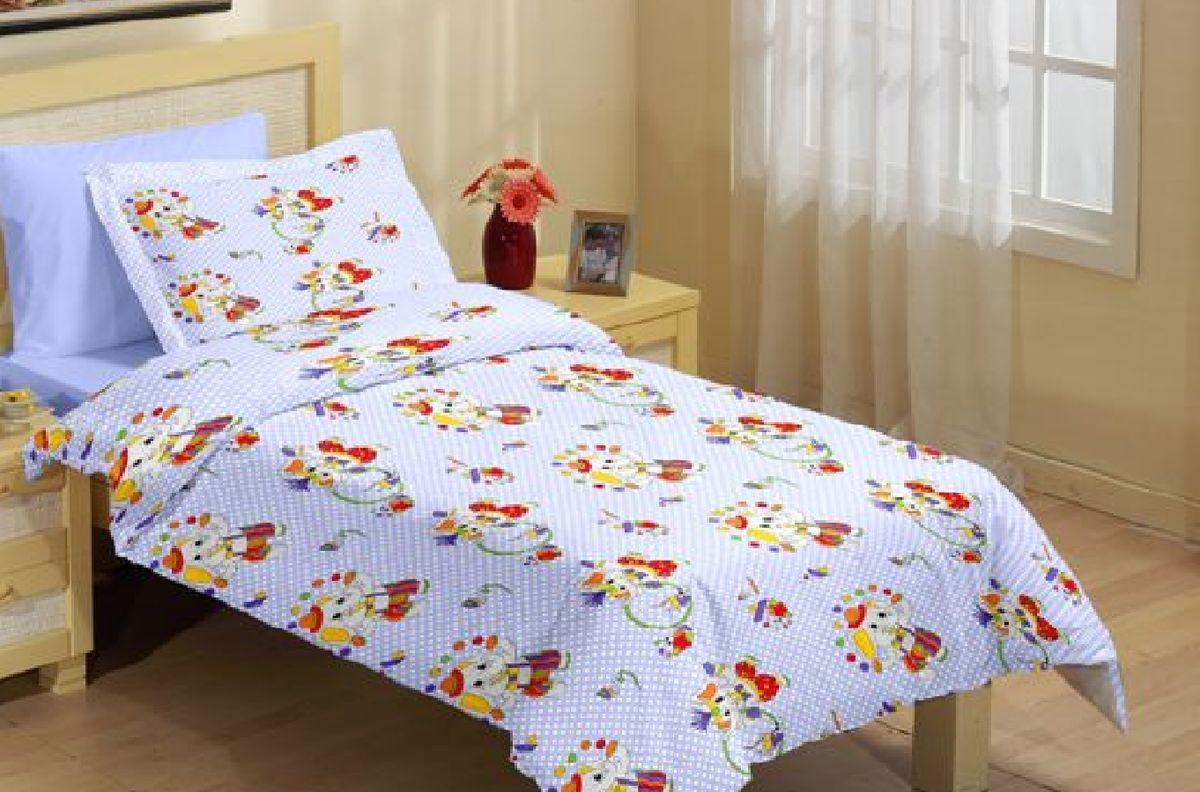Комплект детского постельного белья Liya Home Collection Слоненок, 1,5-спальный, наволочки 70x70, цвет: светло-зеленый толстовки pelican куртка