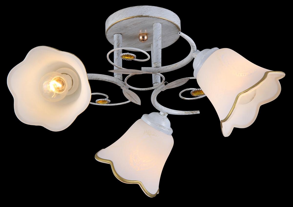 Люстра Natali Kovaltseva 11452/3C White Gold11452/3C WHITE GOLDВ коллекциях NATALI KOVALTSEVA представлены разные стили – от классики до хайтека. Дизайн и технологическая составляющая продукции разрабатывается в R&D центре компании, который находится в г. Дюссельдорф, Германия. При производстве нашей продукции используются высококачественные и эксклюзивные материалы: хрусталь ASFOR, муранское стекло, перламутр, 24-каратное золото, бронза. Производство светильников соответствует стандарту системы менеджмента качества ISO 9001-2000. На всю продукцию ТМ Natali Kovaltseva распространяется гарантия.