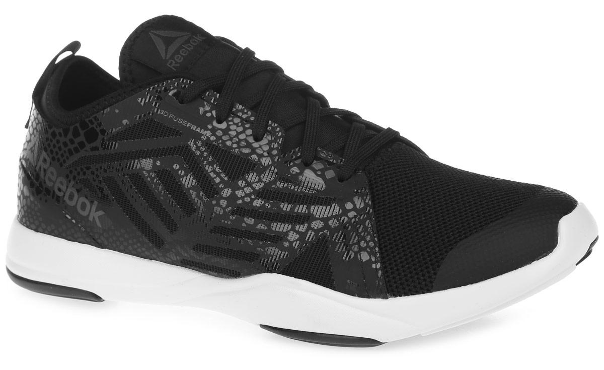Кроссовки для бега женские Reebok Cardio Inspire Low, цвет: черный. AR2691. Размер 9 (40,5)