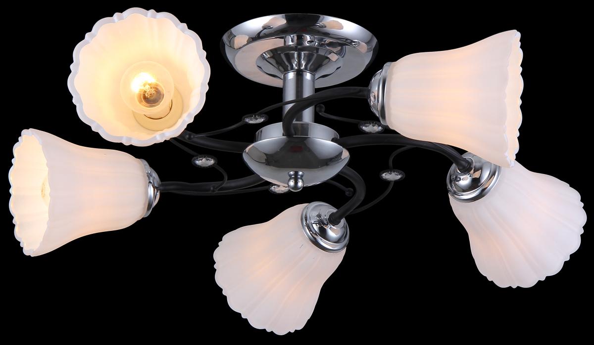 Люстра Natali Kovaltseva 11477/5C Dark Chrome11477/5C DARK CHROMEВ коллекциях NATALI KOVALTSEVA представлены разные стили – от классики до хайтека. Дизайн и технологическая составляющая продукции разрабатывается в R&D центре компании, который находится в г. Дюссельдорф, Германия. При производстве нашей продукции используются высококачественные и эксклюзивные материалы: хрусталь ASFOR, муранское стекло, перламутр, 24-каратное золото, бронза. Производство светильников соответствует стандарту системы менеджмента качества ISO 9001-2000. На всю продукцию ТМ Natali Kovaltseva распространяется гарантия.