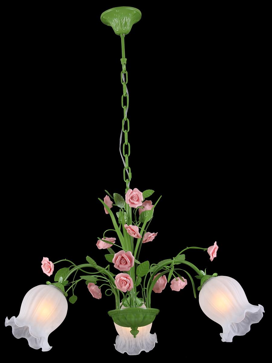 Люстра Natali Kovaltseva Rose 11470/3C GreenROSE 11470/3C GREENВ коллекциях NATALI KOVALTSEVA представлены разные стили – от классики до хайтека. Дизайн и технологическая составляющая продукции разрабатывается в R&D центре компании, который находится в г. Дюссельдорф, Германия. При производстве нашей продукции используются высококачественные и эксклюзивные материалы: хрусталь ASFOR, муранское стекло, перламутр, 24-каратное золото, бронза. Производство светильников соответствует стандарту системы менеджмента качества ISO 9001-2000. На всю продукцию ТМ Natali Kovaltseva распространяется гарантия.