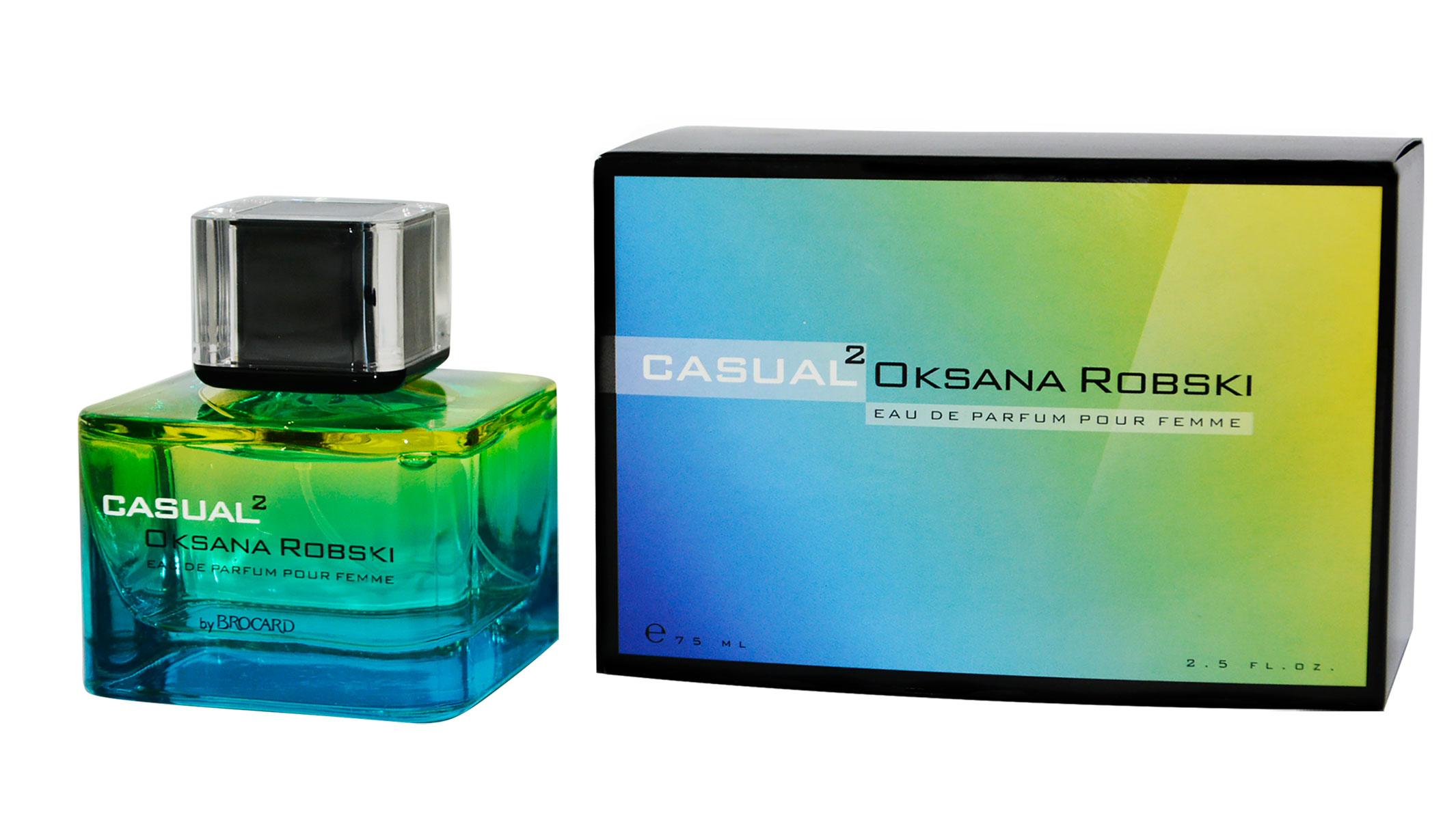 Brocard Oksana Robski Casual 2 парфюмерная вода для женщин, 75 мл каталог oks by oksana demchenko