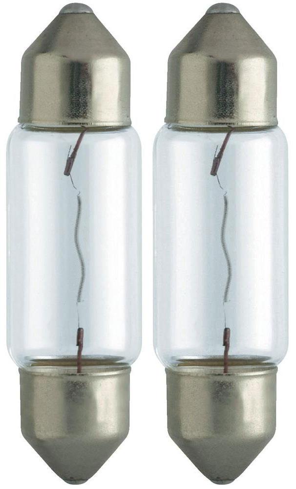 Сигнальная автомобильная лампа Philips C5W 24V-5W (SV8,5) (2шт.) 13844B213844B2 (бл.2)Уже в течение 100 лет компания Philips остается в авангарде автомобильного освещения, внедряя технологические инновации, которые впоследствии становятся стандартом для всей отрасли. Сегодня каждый второй автомобиль в Европе и каждый третий в мире оснащены световым оборудованием Philips.Напряжение: 24 вольт