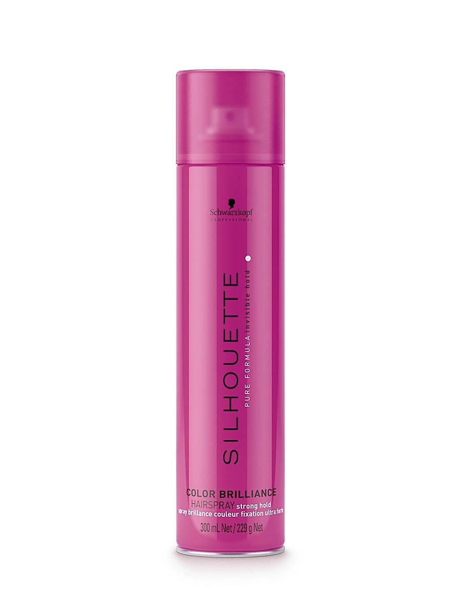 Silhouette Лак-спрей сверхсильной фиксации для окрашенных волос, 500 мл099-61635930Специально для создания укладки и моделирования на прядях, подвергавшихся окрашиванию, лаборатория немецкой косметической компании Schwarzkopf разработала лак-спрей сверхсильной фиксации для окрашенных волос Silhouette Super Hold Colour Brilliance Hairspray. Этот профессиональный продукт имеет уникальную формулу, которая была создана с учетом всех особенностей тонированных, мелированных и окрашенных волос, что позволяет одновременно надежно закреплять форму прически и не причинять вреда полученному оттенку. Действие активных компонентов помогает подчеркнуть яркость, насыщенность цвета волос и способствует удержанию красящего пигмента глубоко в их структуре.Лак-спрей для окрашенных прядей Silhouette в своем составе содержит насыщенный витаминный комплекс. Он обладает способностью действовать одновременно в нескольких направлениях и включает следующие ценные компоненты:Витамин B3. Хорошо питает окрашенные волосы, даря им яркость и блеск.Провитамин B5. Помогает восстановить природный гидробаланс волос, выпрямляет и разглаживает их от корней до кончиков, делая более шелковистыми и эластичными.Витамин E. Имеет сильные антиоксидантные свойства, эффективно нейтрализует действие свободных радикалов и противодействует процессам старения волос.За счет присутствия в составе УФ-фильтров продукт эффективно предотвращает выгорание окрашенных волос, которые находятся под действие солнечных лучей. В результате использования этого укладочного средства удается обеспечить максимально надежную фиксацию укладок любой формы, при этом волосы получают превосходную защиту от выгорания и потери цвета.
