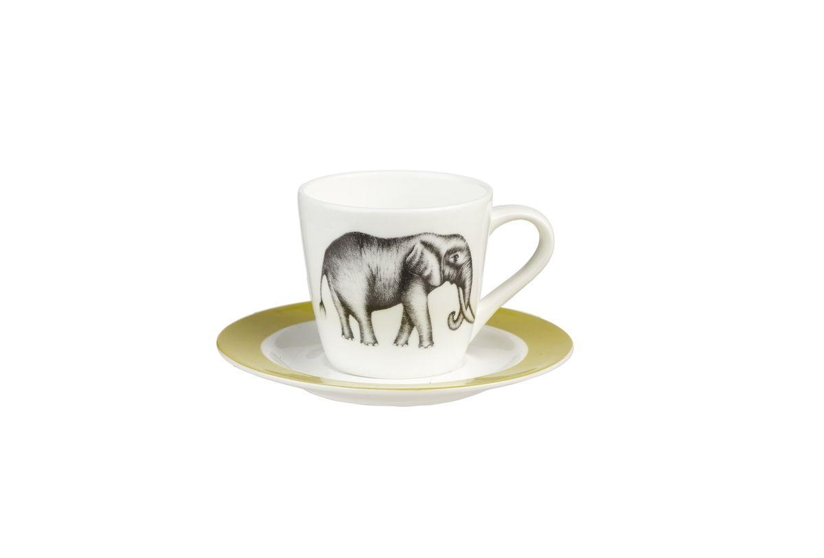 Набор кофейный Churchill, 4 предмета. HARL00331HARL00331Коллекция Арлекин красиво упакована в подарочные коробки. При изготовлении данной коллекции используют лучший костяной фарфор. Материал: Костяной фарфор, фарфорМожно мыть в посудомоечной машине Можно использовать в микроволновой печи