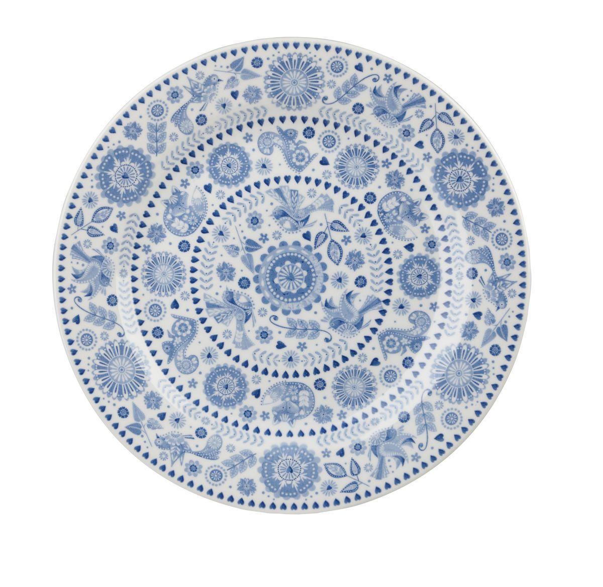 Тарелка десертная Churchill Пензанс, диаметр 20 см. PENZ00161PENZ00161Тарелка Churchill Пензанс выполнена из высококачественного фаянса и украшена оригинальным узором. Такая тарелка отлично подойдет для подачи различных десертов. Коллекция Penzance - классическое сочетание синего и белого с народным дизайном. Можно мыть в посудомоечной машине. Можно использовать в микроволновой печи.