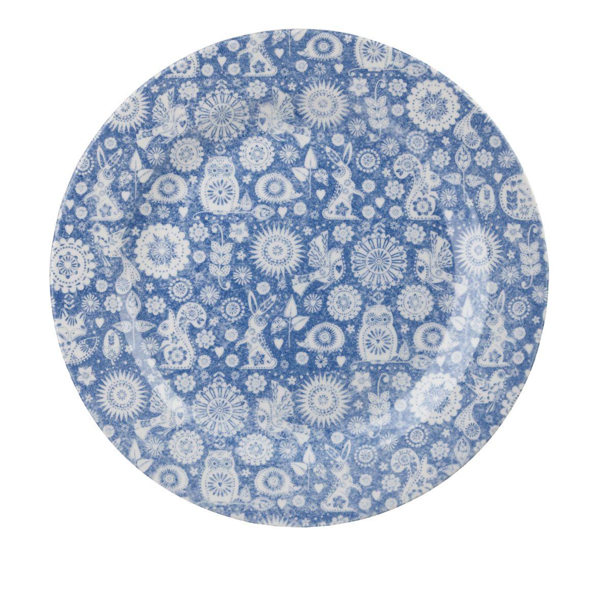 Тарелка обеденная Churchill, диаметр 26 см. PENZ00201PENZ00201Обеденная тарелка Churchill изготовлена из высококачественного фаянса. Изделие оформлено красивым рисунком. Оно прекрасно впишется в интерьер вашей кухни и станет достойным дополнением к кухонному инвентарю. Тарелка Churchill подчеркнет прекрасный вкус хозяйки и станет отличным подарком. Можно мыть в посудомоечной машине и использовать в микроволновой печи.Диаметр тарелки (по верхнему краю): 26 см.