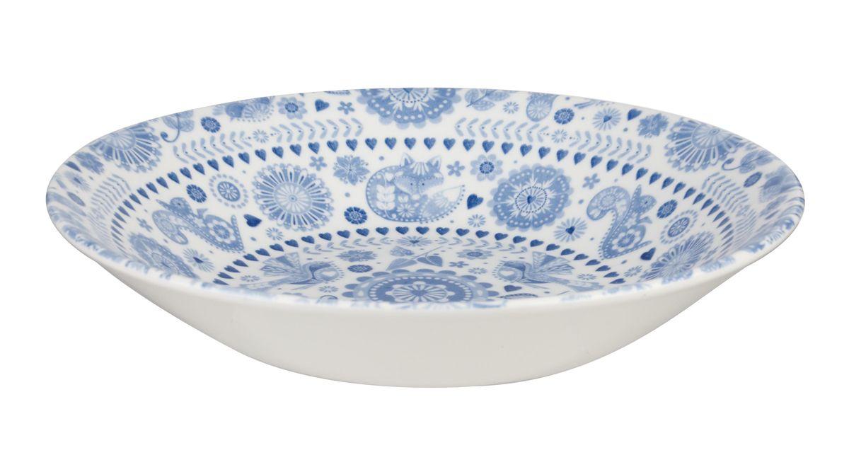 """Суповая тарелка """"Churchill"""" изготовлена из высококачественного фаянса.  Изделие оформлено красивым рисунком. Оно прекрасно  впишется в интерьер вашей кухни и станет достойным  дополнением к кухонному инвентарю.  Тарелка """"Churchill"""" подчеркнет  прекрасный вкус хозяйки и станет отличным подарком.   Можно мыть в посудомоечной машине и использовать в микроволновой печи.   Диаметр тарелки (по верхнему краю): 20 см."""