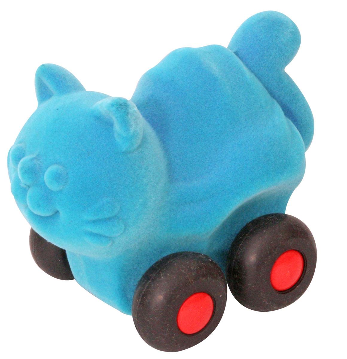 Rubbabu Фигурка функциональная Кошка машины rubbabu скутер из натурального каучука с флоковым покрытием 21 см