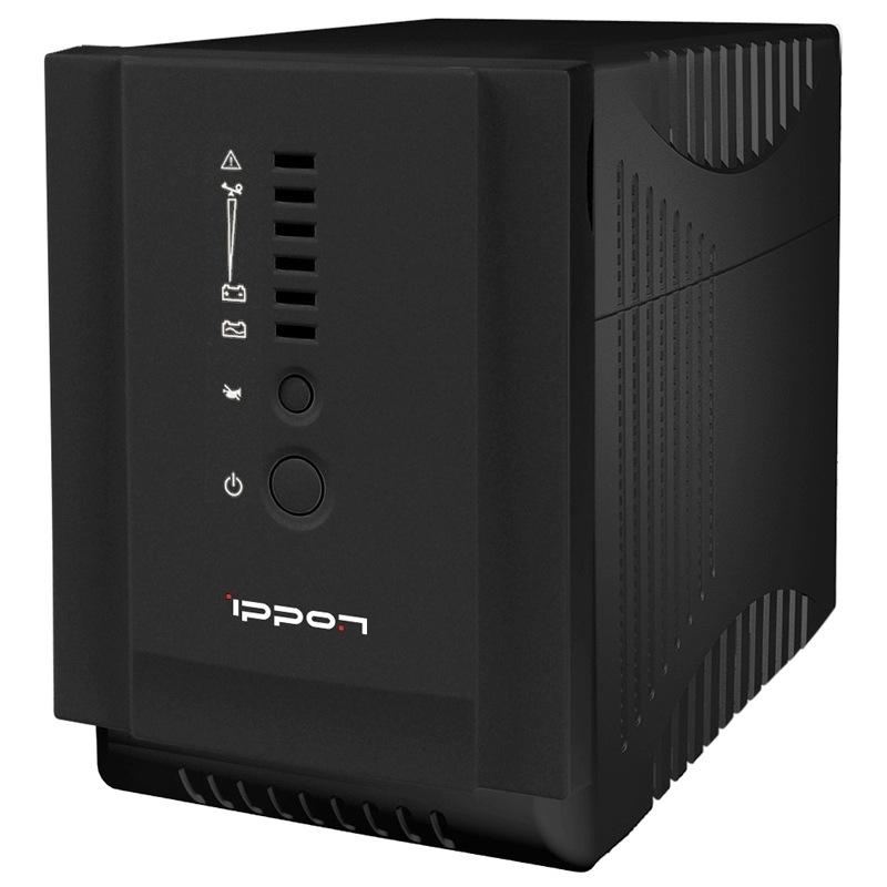 Источник бесперебойного питания Ippon Smart Power Pro 1000, Black - Источники бесперебойного питания (UPS)