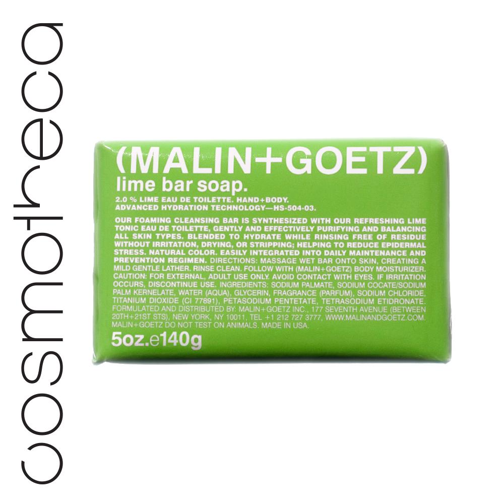 Malin+Goetz Мыло туалетное Лайм 140 грMG504Мягкая моющая основа, увлажняющий глицерин и яркие ароматы делают мыло очень приятным при использовании.