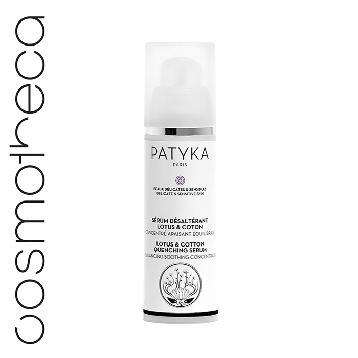 Patyka Cosmetics Увлажняющая сыворотка для лица Лотос и Хлопок 30 млPTK1306Моментально успокаивает – увлажняет и насыщает влагой обезвоженную кожу Средство подходит для чувствительной кожи: без отдушек, аллергенов, не содержит эфирные масла, спирт, мыло Несмываемая формула. Предупреждает чувство жара в коже, поддерживает естественную защиту кожи и смягчает чувствительную кожу Снимает воспаление и покраснение. Балансирует кожную флору.