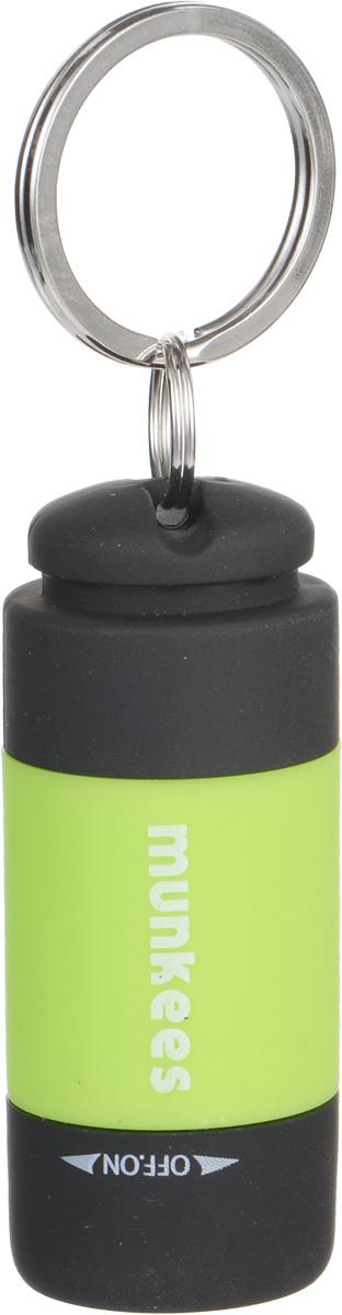 Брелок-фонарик Munkees Цилиндр1099Брелок-фонарик Munkees Цилиндр выполнен из прочного пластика и покрыт дополнительным прорезиненным слоем, что позволяет держать его даже в дождь без скольжения в руке. Не говоря об его тактильных ощущениях, но его основная функция это фонарик с LED диодом. Переключателем включения/выключения является часть корпуса фонарика, что исключает случайное включение в режиме брелока. Стальное кольцо позволяет подвешивать изделие на ключи, пояс или рюкзак.