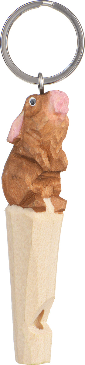Брелок-свисток Munkees Кролик3354Брелок-свисток Munkees Кролик - это свисток с вырезанной вручную фигуркой, выполненной из дерева. Фигурка символизирует знак зодиака по восточному календарю. Сам свисток можно использовать на групповых тренировках, можно в качестве дрессировки собак, а можно и в экстренных случаях, обратить на себя внимание либо отпугнуть недоброжелателей или агрессивных животных.Такой свисток станет оригинальным и практичным подарком.