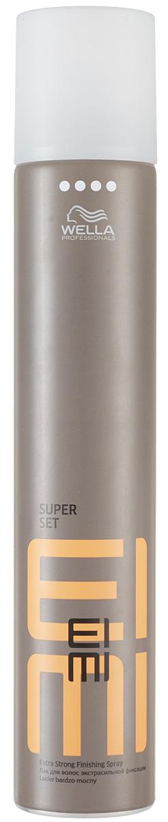 Wella Лак для волос ультрасильной фиксации Finish Super Set, 500 мл81511626Wella Finish Super Set Лак для волос ультрасильной фиксации 300 мл профессиональное средство для максимальной фиксации волос при создании любых, даже самых смелых причесок. Специальная разработка специалистов Wella Professional для ежедневного использования, лак позволяет сохранить идеальную форму прическу в течение всего дня в любую погоду. Подходит для всех типов волос. Благодаря сбалансированному составу, обогащенному витаминным комплексом и минералами, лак Wella FINISH SUPER SET не только прекрасно справляется с задачей надолго сохранить безупречность и красоту прически, но и придает волосам здоровый вид и натуральный блеск.Wella FINISH SUPER SET поможет сохранить прическу в любую погоду: защитит волосы от пересыхания и негативного влияния ультрафиолетовых лучей в солнечную погоду, и не позволит испортить прическу и ваше настроение в дождливый или ветреный день.Удобный распылитель позволит равномерно и аккуратно распределить лак, надежно фиксируя даже самые непослушные локоны. При использовании средства пряди волос не слипаются, а лак остается невидим на волосах.Wella FINISH SUPER SET лак ультрасильной фиксации для укладки волос красота и безупречность прически надолго!