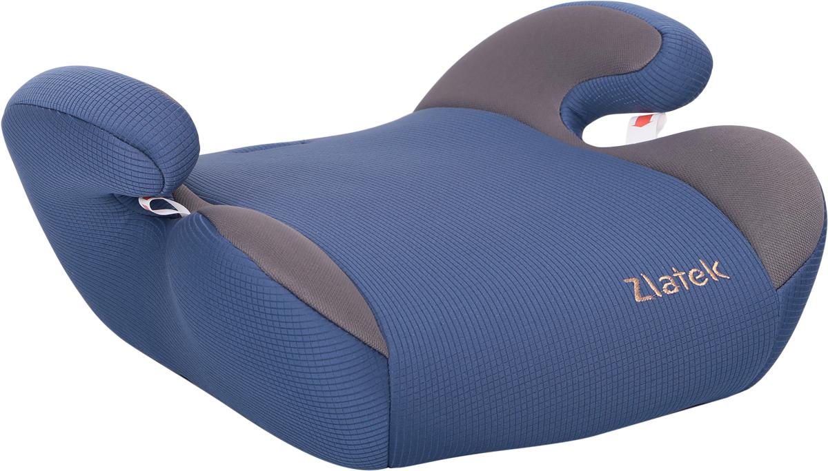 Zlatek Бустер Raft цвет синийKRES0495Детское автокресло Zlatek «Raft» относится к возрастной группе 3, для детей от 6 до 12 лет, весом от 22 до 36 кг. В основе кресла Zlatek «Raft» усиленный каркас. Износостойкий съемный чехол выполнен из нетоксичного гипоаллергенного материала, легко стирается. Детские удерживающие устройства Zlatek разработаны и сделаны в России с учетом анатомии детей. Увеличенное посадочное место обеспечивает удобство в поездке, как в летней, так и в зимней одежде. Автокресло успешно прошло все необходимые краш-тесты и имеет сертификат соответствия техническому регламенту РФ и таможенному союзу.Автокресло Zlatek «Raft» упаковано в защитную полиэтиленовую пленку.