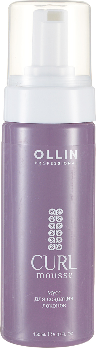 Ollin Мусс для создания локонов Curl Hair Mousse 150 мл eugene perma мусс для объема mousse cycle vital volume intense ultra fine 150 мл