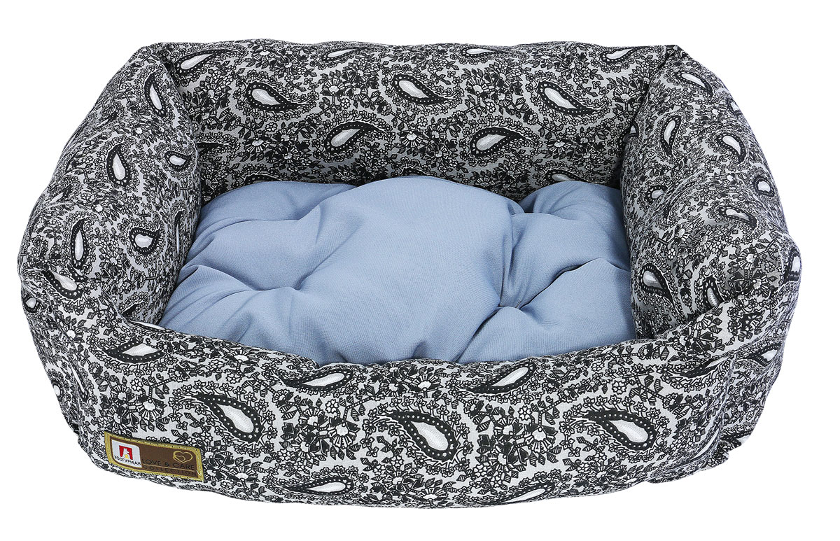 Лежак для животных Зоогурман Саваж, 45 х 56 х 16 см лежак для животных каскад клетка 2 46 х 46 х 15 см
