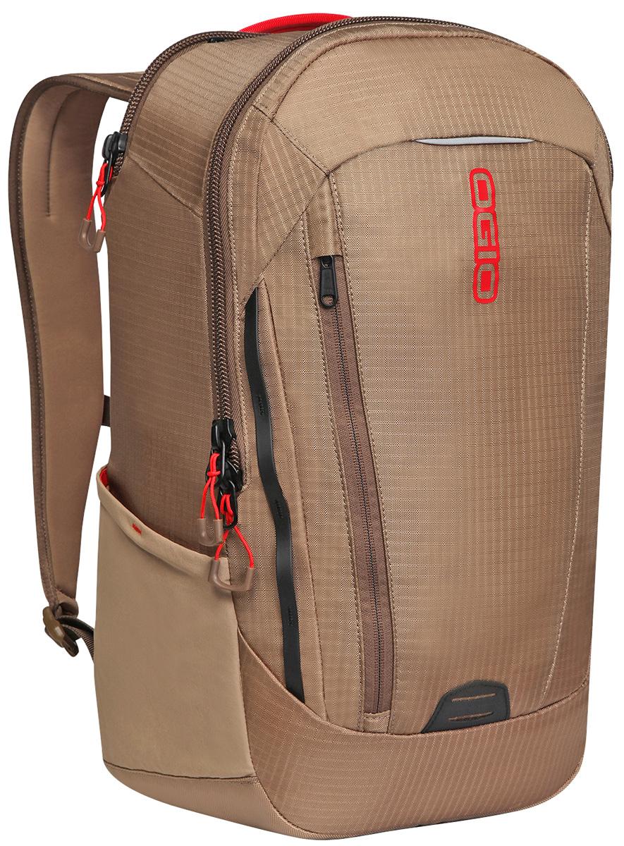 Рюкзак городской OGIO Apollo Pack, цвет: коричневый, красный, 20 л111106-559Рюкзак OGIO Apollo Pack разработан для ярких и модных людей! Он позволит вам взять с собой все необходимое.Этот рюкзак достаточно вместительный, благодаря чему у вас есть возможность взять с собой множество необходимых вещей, и при этом совсем не громоздкий. Множество специализированных карманов помогают распределить вещи в рюкзаке наиболее оптимальным способом, а современный дизайн и отличный внешний вид дополнят ваш образ. OGIO - высокотехнологичный продукт от американского производителя. Вместимые сумки для путешествий, работы и отдыха, специальная коллекция городских сумок для женщин, жесткие боксы под мелкий инвентарь и многое другое.Объем: 20 л.