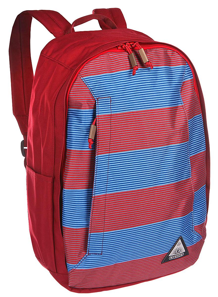 Рюкзак городской OGIO Lewis Pack, цвет: красный, синий, 23 л111103-556Рюкзак OGIO Lewis Pack разработан для ярких и модных людей! Он позволит вам взять с собой все необходимое.Рюкзак OGIO Lewis Pack компактный, но при этом достаточно вместительный. Имеется специализированный отсек для ноутбука, а также уплотненный карман для ценных вещей на молнии. Внешний передний и боковой карманы на вертикальной молнии обеспечивают быстрый доступ к содержимому, позволяя всегда держать необходимые аксессуары и документы поблизости.OGIO - высокотехнологичный продукт от американского производителя. Вместимые сумки для путешествий, работы и отдыха, специальная коллекция городских сумок для женщин, жесткие боксы под мелкий инвентарь и многое другое.Объем рюкзака: 23 л.