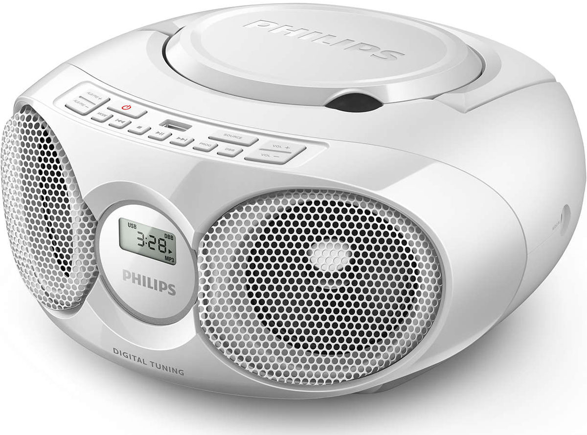 Philips AZ318W/12 магнитола c CD - Магнитолы, радиоприемники