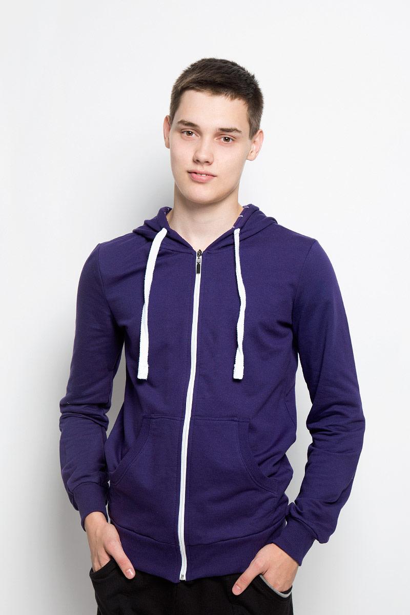 Толстовка мужская RAV, цвет: фиолетовый. RAV01-020. Размер L (50) футболка поло мужская rav rav01 021