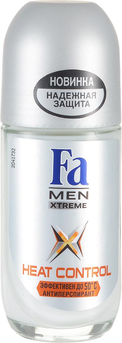 FA MEN Xtreme Дезодорант роликовый Heat Control, 50 мл120854386Fa MEN антиперспирант Xtreme Heat Control. При повышении температуры усовершенствованная формула усиливает уровень защиты для экстремального контроля над потом в любой ситуации. Клинические испытания доказали эффективную защиту против пота и запаха, даже в экстремально жарких условиях. Протестирован при t до 50°C.Также почувствуйте экстремальную свежесть, принимая душ с гелем для душа Fa Men Xtreme.
