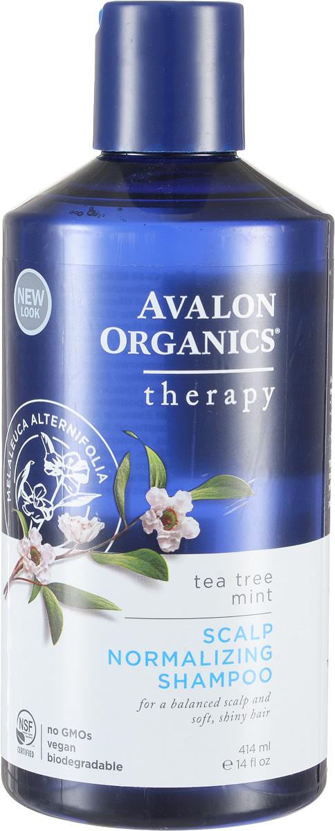 Avalon Organics Нормализующий шампунь Чайное дерево и мята, 400 млAV36105Сбалансированность моющей формулы растительного происхождения обеспечивает оптимальное очищение с восстановлением гидро-липидного баланса и укреплением кутикулы волос. Сертифицированный органический комплекс, с рекордным количеством целебных масел и экстрактов, стабилизирует работу сальных желез, оказывает противовоспалительное, антибактериальное и противогрибковое действие. Устраняет раздражение, перхоть и препятствует развитию себореи. Характеристики:Объем: 400 мл. Артикул: AV36105. Производитель: США. Товар сертифицирован.