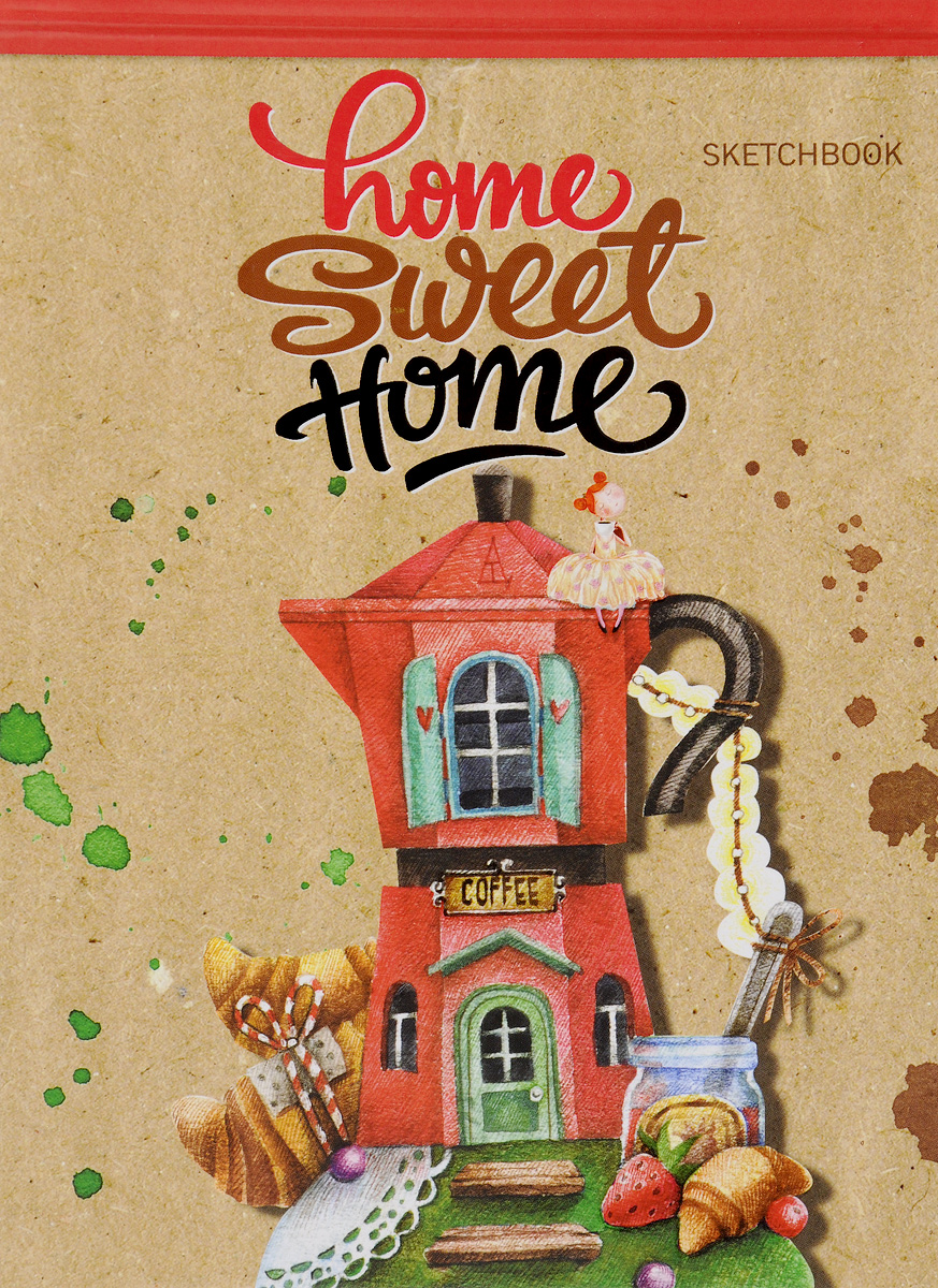 Home sweet home! Блокнот блокнот home sweet home coffee а5