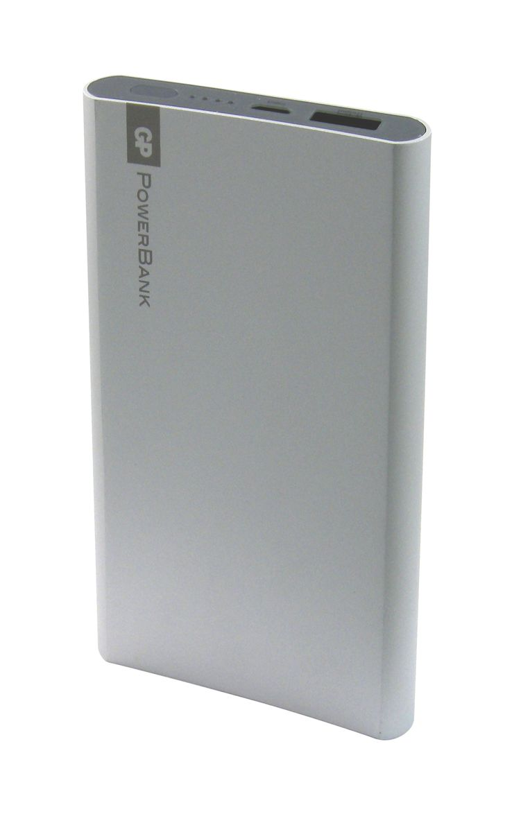 GP Batteries GP GPFP05MSE-2CRB1, Silver внешний аккумулятор (5000 мАч) 10474