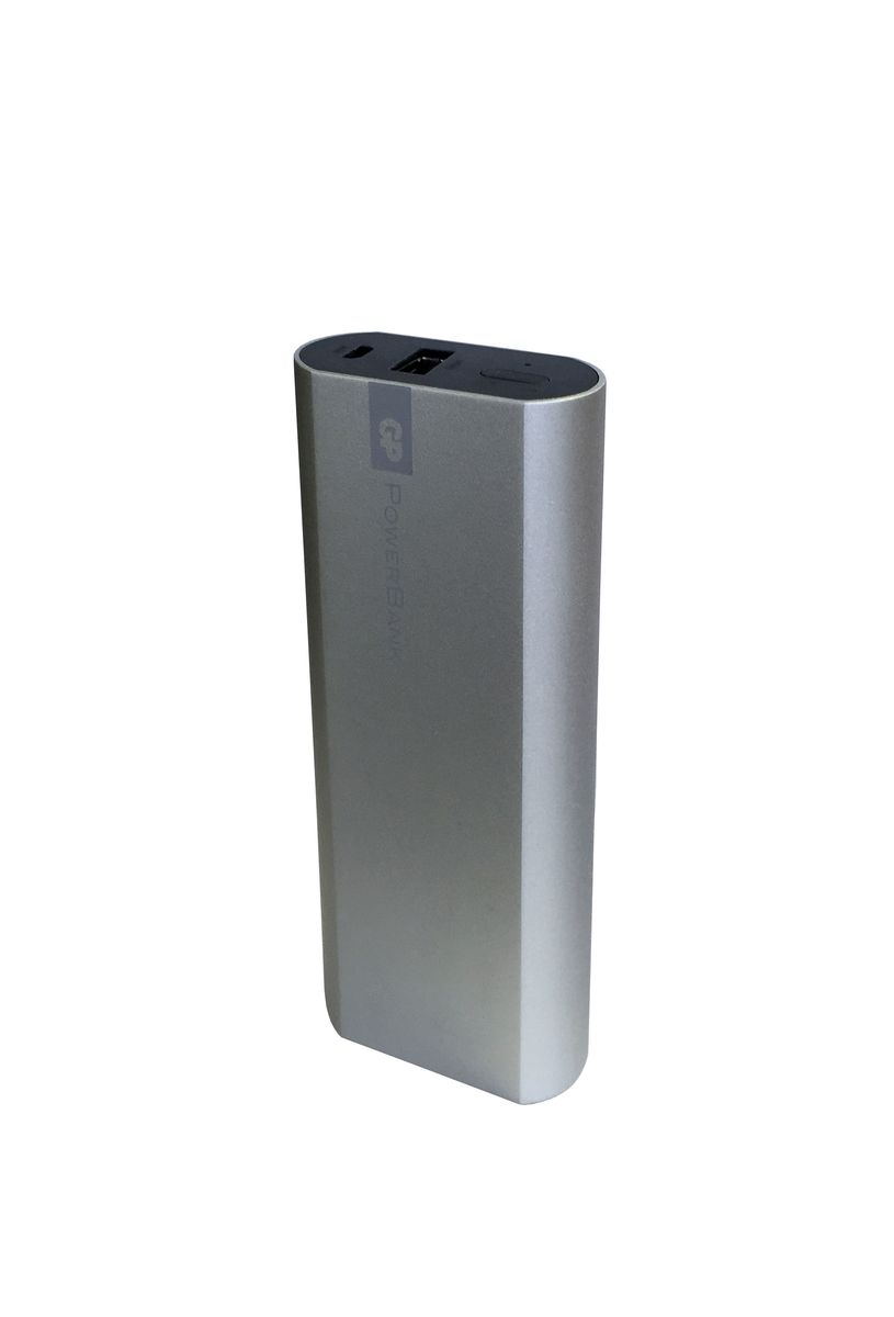 GP GPFN05MSE-2CRB1, Silver внешний аккумулятор (5200 мАч)