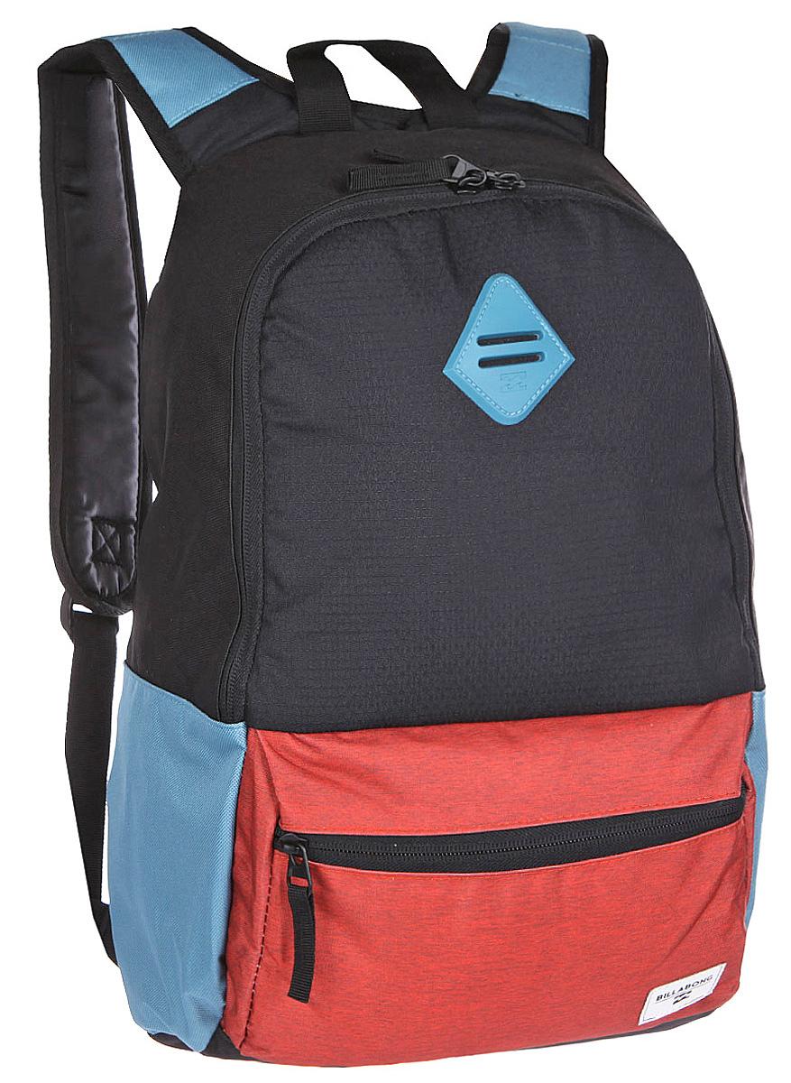 Рюкзак городской Billabong Atom, цвет: коралловый , 20 лU5BP03Практичный рюкзак, простой, не громоздкий, но при этом достаточно вместительный. Внутренние карманы для ноутбука и документов позволят удобно разложить важнейшие вещи, не требуя большого количества отсеков рюкзака. Вместительное основное отделение закрывается на молнию. Внешний карман быстрого доступа на молнии. Отличный вариант для всех случаев жизни, будь то работа, учеба, катание, прогулка по городу или поездка.